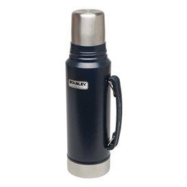 Stanley Classic Vakuum Flasche 1 l Isolierflasche Thermoskanne blau