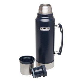 Stanley Classic Vakuum Flasche 1 l Isolierflasche Thermoskanne blau im ARTS-Outdoors Stanley-Online-Shop günstig bestellen