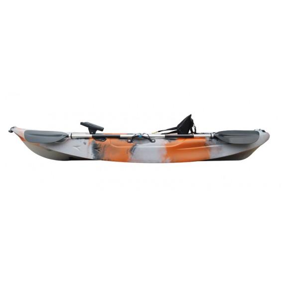 ExtaSea-Yak 268 1er Sit on Top Kajak Set + Paddel & Kajaksitz im ARTS-Outdoors ExtaSea-Online-Shop günstig bestellen