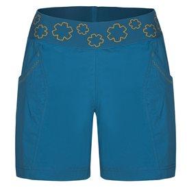 Ocun Pantera Shorts Damen Kurze Kletter Shorts Sporthose capri blue