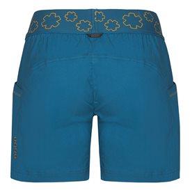 Ocun Pantera Shorts Damen Kurze Kletter Shorts Sporthose capri blue hier im Ocun-Shop günstig online bestellen