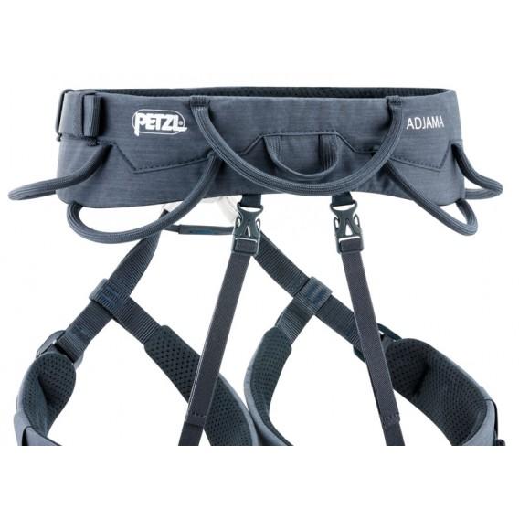 Petzl Adjama Hüftgurt Klettergurt zum Klettern und Bergsteigen blau hier im Petzl-Shop günstig online bestellen
