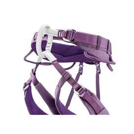 Petzl Luna Damen Hüftgurt Klettergurt zum Klettern und Bergsteigen violett im ARTS-Outdoors Petzl-Online-Shop günstig bestellen
