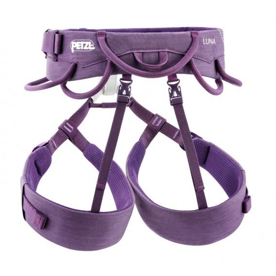 Petzl Luna Damen Hüftgurt Klettergurt zum Klettern und Bergsteigen violett hier im Petzl-Shop günstig online bestellen