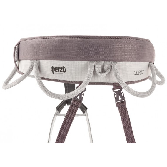 Petzl Corax 2 verstellbarer universal Klettergurt grau hier im Petzl-Shop günstig online bestellen