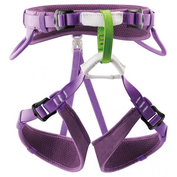 Petzl Macchu verstellbarer Sitzgurt für Kinder Klettergurt violett hier im Petzl-Shop günstig online bestellen