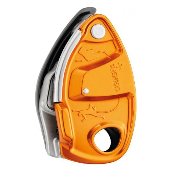 Petzl Grigri+ Sicherungsgerät mit Bremskraftunterstützung orange hier im Petzl-Shop günstig online bestellen