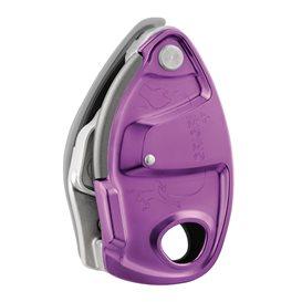 Petzl Grigri + Sicherungsgerät mit Bremskraftunterstützung violett im ARTS-Outdoors Petzl-Online-Shop günstig bestellen