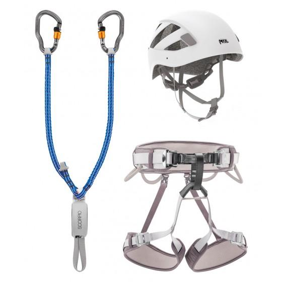 Petzl Kit Via Ferrata Vertigo 2 Klettersteig Komplettset hier im Petzl-Shop günstig online bestellen