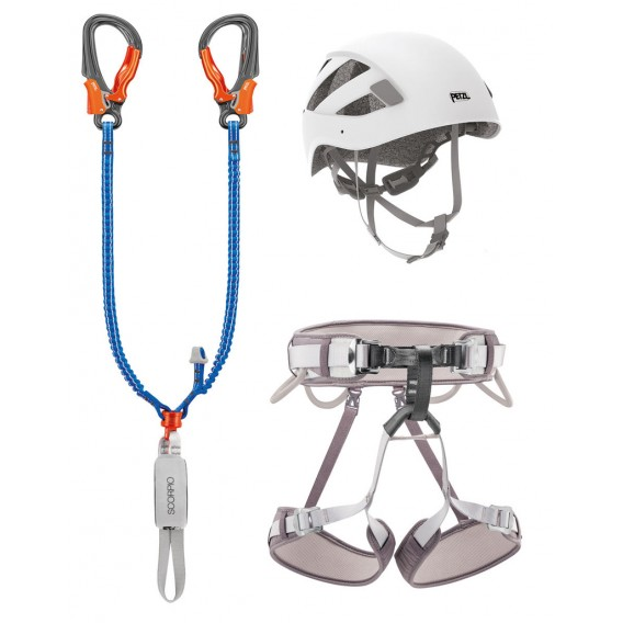 Petzl Kit Via Ferrata Eashook 2 Klettersteig Komplettset hier im Petzl-Shop günstig online bestellen