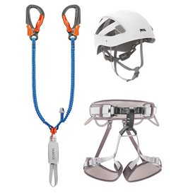 Petzl Kit Via Ferrata Eashook 2 Klettersteig Komplettset im ARTS-Outdoors Petzl-Online-Shop günstig bestellen
