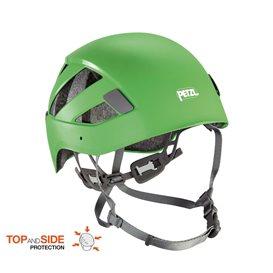 Petzl Boreo Kletterhelm Kopfschutz zum Bergsteigen grün