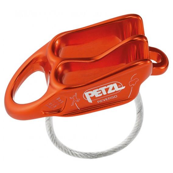 Petzl Reverso Sicherungs und Abseilgerät rot hier im Petzl-Shop günstig online bestellen