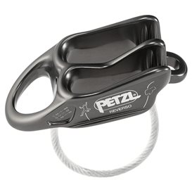 Petzl Reverso Sicherungs und Abseilgerät grau im ARTS-Outdoors Petzl-Online-Shop günstig bestellen