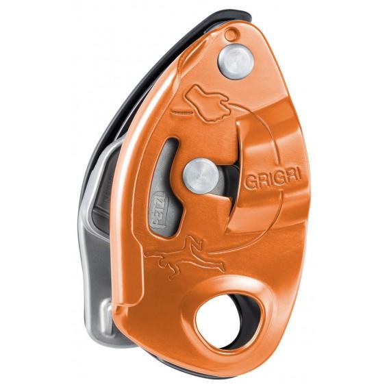 Petzl Grigri Sicherungsgerät mit Bremskraftunterstützung rot hier im Petzl-Shop günstig online bestellen