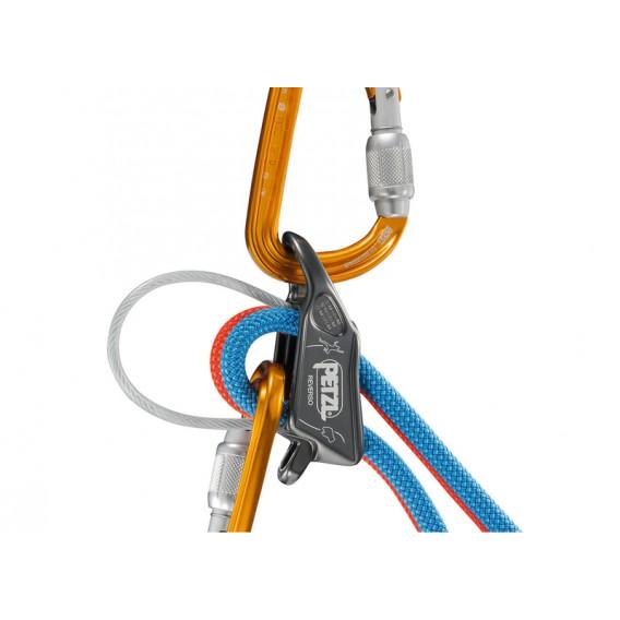 Petzl Reverso Sicherungs und Abseilgerät grau hier im Petzl-Shop günstig online bestellen