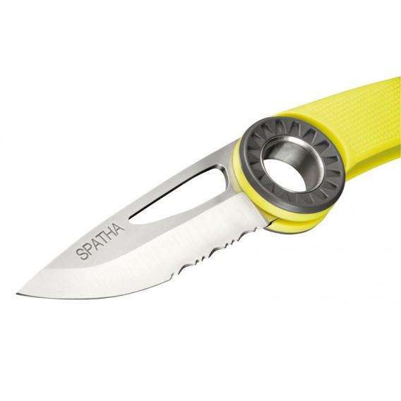 Petzl Spatha Messer zum Einhängen am Karabiner gelb hier im Petzl-Shop günstig online bestellen