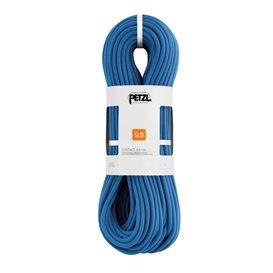 Petzl Contact 9,8mm Einfachseil 80m zum Sportklettern Kletterseil blau