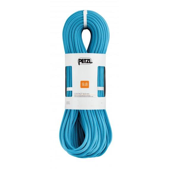 Petzl Contact 9,8mm Einfachseil 70m zum Sportklettern Kletterseil türkis im ARTS-Outdoors Petzl-Online-Shop günstig bestellen