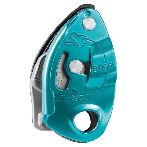 Petzl Grigri Sicherungsgerät mit Bremskraftunterstützung blau hier im Petzl-Shop günstig online bestellen