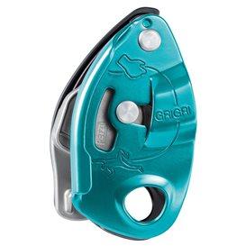 Petzl Grigri Sicherungsgerät mit Bremskraftunterstützung blau