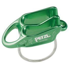 Petzl Reverso Sicherungs und Abseilgerät grün