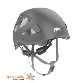 Petzl Boreo Kletterhelm Kopfschutz zum Bergsteigen grau