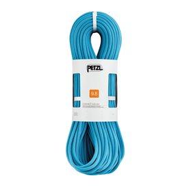 Petzl Contact 9,8mm Einfachseil 80m zum Sportklettern Kletterseil türkis