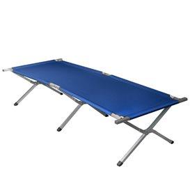 Arts Outdoor Equipment XXL AUSSTELLUNGSMODELL Feldbett aus Aluminium extra lang 210 cm blau