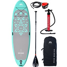 Aqua Marina Dhyana 11.0 Yoga Set aufblasbares Stand Up Paddle Board SUP im ARTS-Outdoors Aqua Marina-Online-Shop günstig bestell