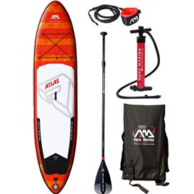 Aqua Marina Atlas 12.0 komplett Set aufblasbares Stand Up Paddle Board SUP