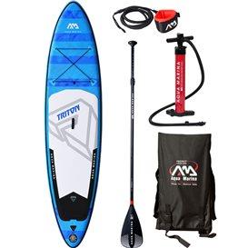 Aqua Marina Triton 11.2 komplett Set aufblasbares Stand Up Paddle Board SUP