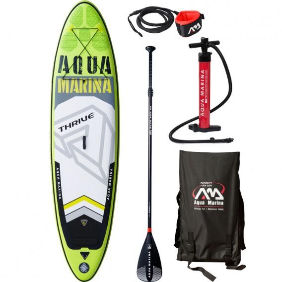 Aqua Marina Thrive 10.4 komplett Set aufblasbares Stand Up Paddle Board SUP im ARTS-Outdoors Aqua Marina-Online-Shop günstig bes
