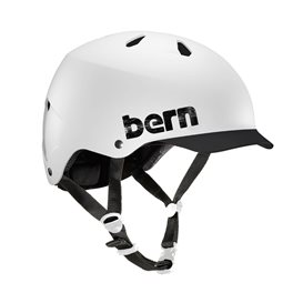 Bern Watts H2O Helm für Wakeboard Kajak Wassersport unit white