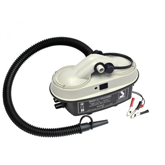 Bravo 12 Elektropumpe 12V elektrische Pumpe für Schlauchboote, Kites etc. im ARTS-Outdoors BRAVO-Online-Shop günstig bestellen