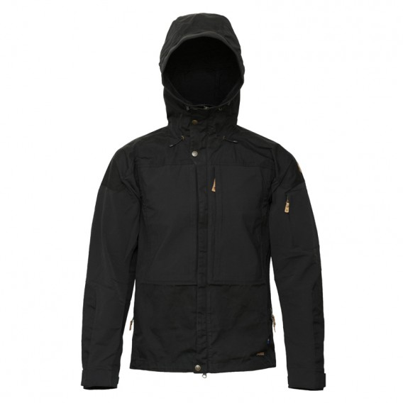 top fashion 8ead4 567b8 Fjällräven Keb Jacket Herren Outdoorjacke Übergangsjacke black-black
