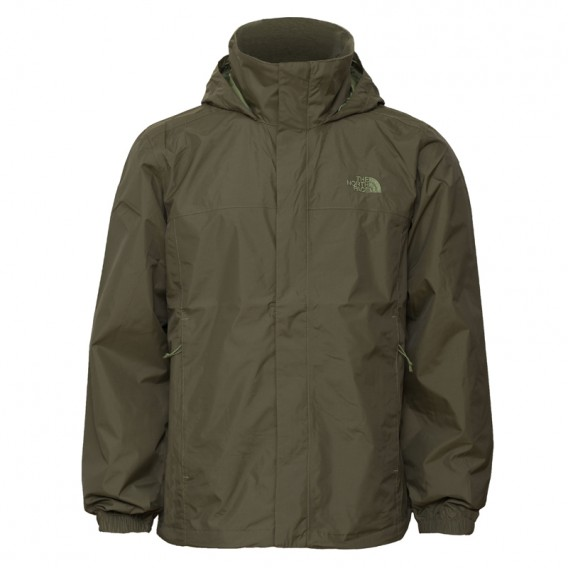 c22d255c1d The North Face Resolve 2 Jacket Herren Regenjacke taupe green im  ARTS-Outdoors The North