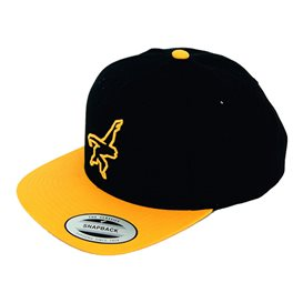 Gibbon Snapback Cap Baseball Kappe Basecap yellow-black
