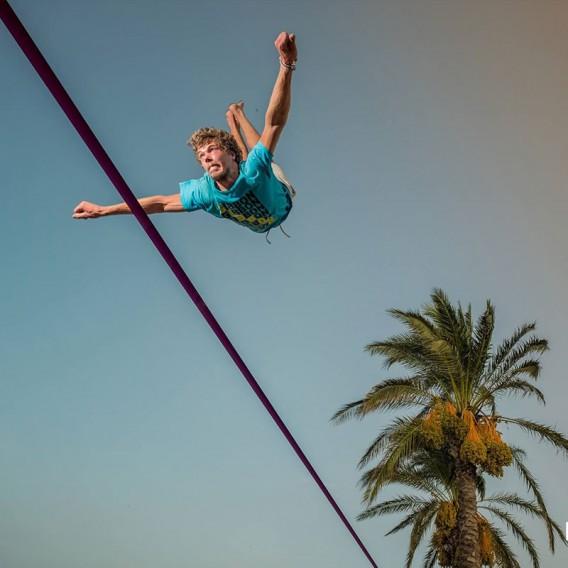 Gibbon Surfer Line Treewear Set Slackline hier im GIBBON-Shop günstig online bestellen
