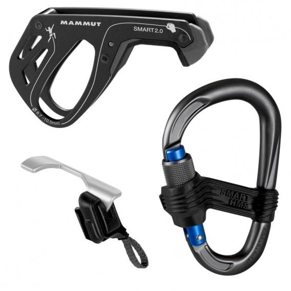 Mammut Smarter Belay Package Sicherungsgerät Einsteiger-Set phantom hier im Mammut-Shop günstig online bestellen