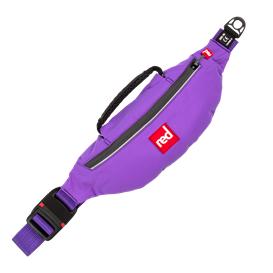Red Paddle Original Air Belt PFD selbstaufblasende Schwimmweste im Hüftgurt purple