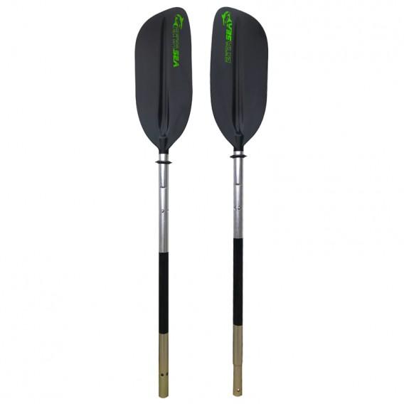 ExtaSea Alu Basic Doppelpaddel 4-tlg 230cm black hier im ExtaSea-Shop günstig online bestellen
