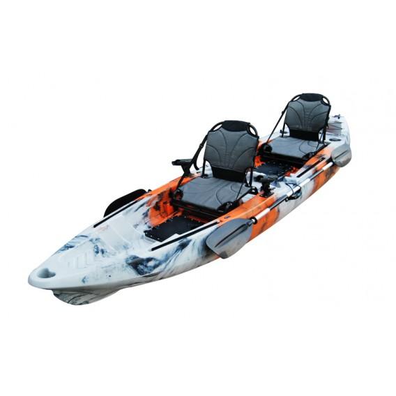 ExtaSea-Yak 390 Pro 2er Sit on Top Kajak Set + 2 Paddel & Kajaksitze im ARTS-Outdoors ExtaSea-Online-Shop günstig bestellen