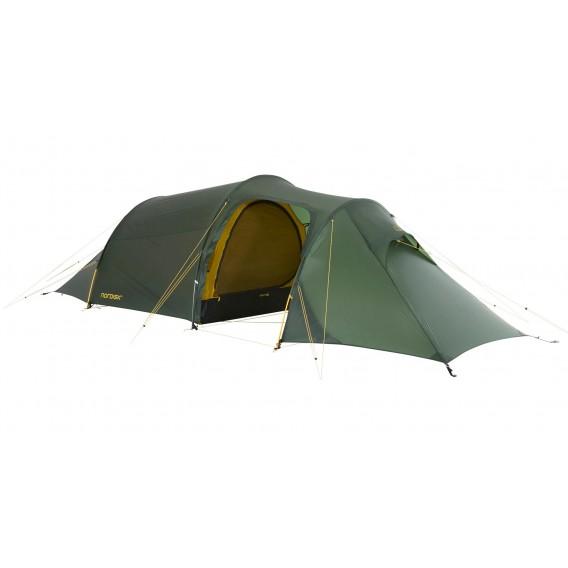 Nordisk Oppland 2 LW leichtes Camping Tunnelzelt 2 Personen forest green hier im Nordisk-Shop günstig online bestellen