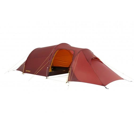 Nordisk Oppland 2 LW leichtes Camping Tunnelzelt 2 Personen burnt red hier im Nordisk-Shop günstig online bestellen