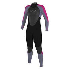 ONeill Girls Epic 4/3 Back Zip Full Kinder Fullsuit Neoprenanzug pink hier im ONeill-Shop günstig online bestellen