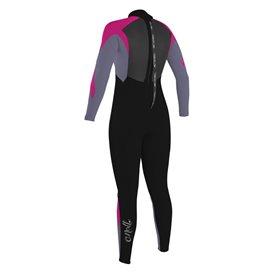 ONeill Girls Epic 4/3 Back Zip Full Kinder Fullsuit Neoprenanzug pink im ARTS-Outdoors ONeill-Online-Shop günstig bestellen