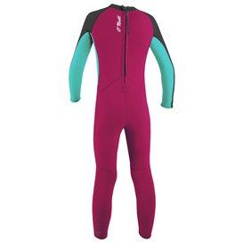 ONeill Toddler Reactor II 2 mm Back Zip Full Mädchen Neoprenanzug Fullsuit pink hier im ONeill-Shop günstig online bestellen
