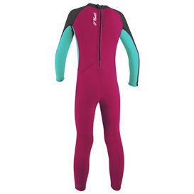ONeill Toddler Reactor II 2 mm Back Zip Full Mädchen Neoprenanzug Fullsuit pink im ARTS-Outdoors ONeill-Online-Shop günstig best
