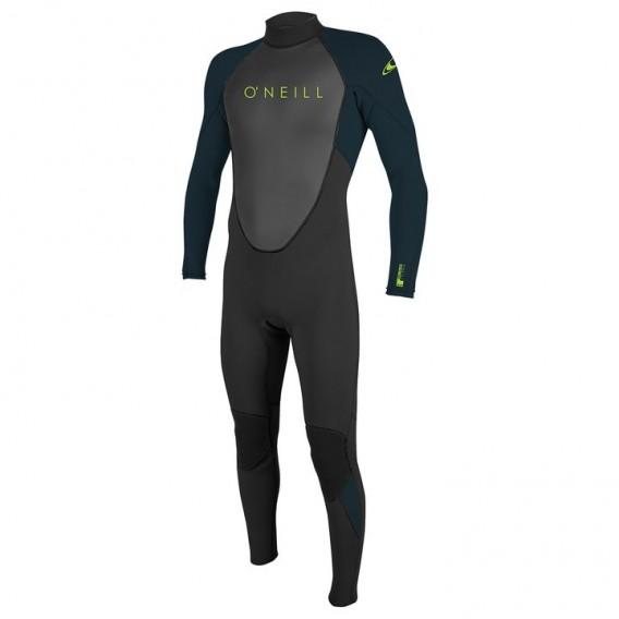 ONeill Youth Reactor II 3/2 Back Zip Full Kinder Fullsuit Neoprenanzug schwarz hier im ONeill-Shop günstig online bestellen